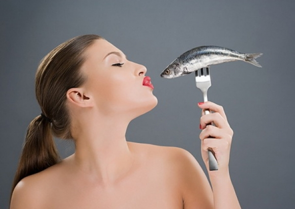 Рыбная диета против морщин