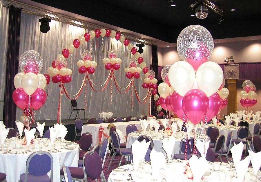 Как оформить зал на свадьбу своими руками