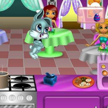 Пасхальное кафе - бесплатная онлайн игра