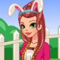Одень кролика на Пасху - играть онлайн
