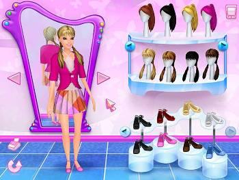 Выбери наряд Барби играть онлайн