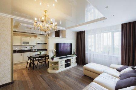 Интерьер красивой квартиры
