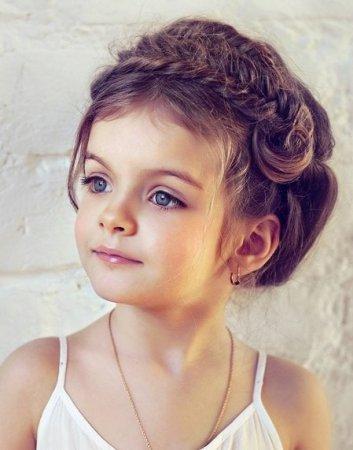 Как делать красивые детские прически