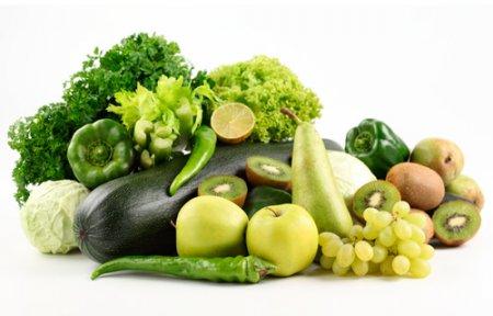 Правильное питание зелеными продуктами