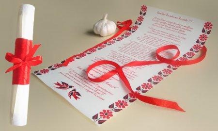 Как сделать пригласительные на свадьбу