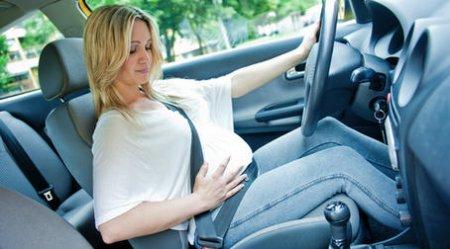 Беременность за рулем