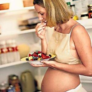 Беременность. Ограничения в еде.