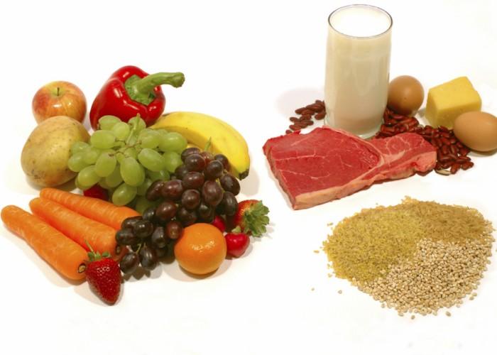 Основные продукты при правильном питании
