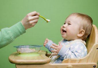 Развитие ребенка. Каша для малыша.