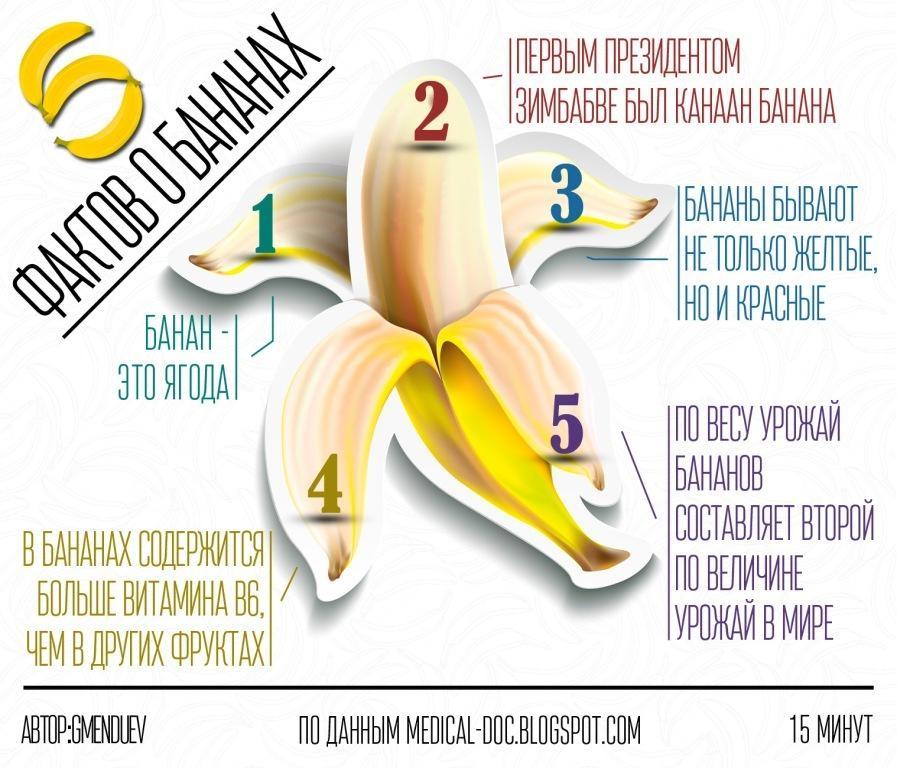 Зеленые бананы полезнее желтых | Фрукты для нашего