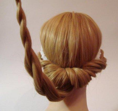 Как сделать красивую резинку для волос своими