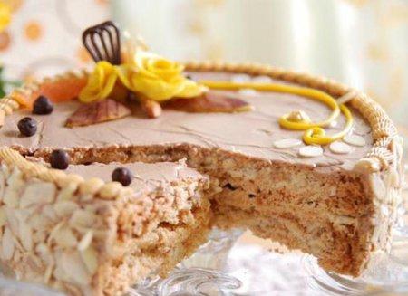 Как приготовить Киевский торт: видео