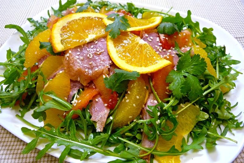 как приготовить салат из языка рецепт