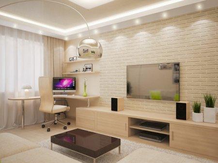 Интерьер квартиры для бизнесменов