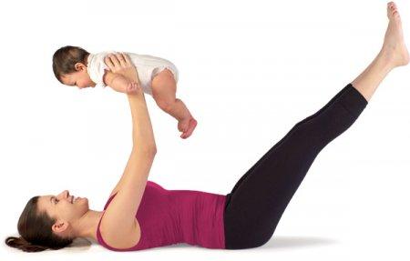 Упражнение после родов для молодых мам
