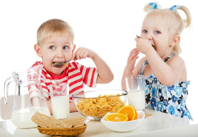 правильное питание детям меню на неделю