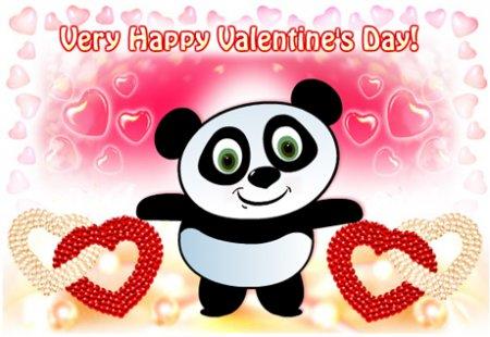 Счастливого Дня Валентина - онлайн открытка