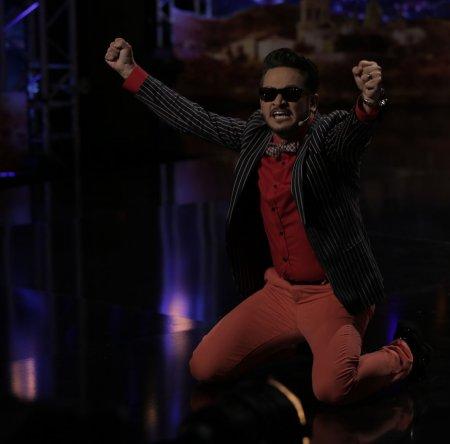 Эктор Хименес Браво танцует реггетон - Україна має талант