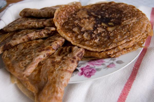 масленица рецепты блинов из гречневой муки