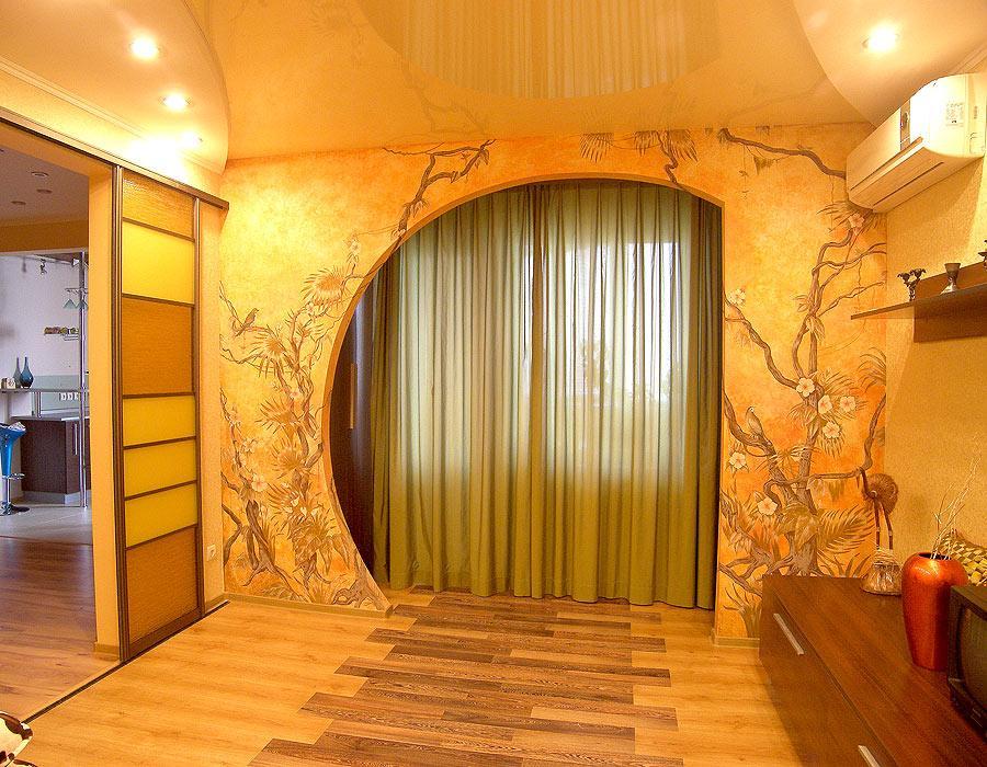 Дизайн арок в комнате