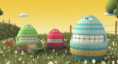 Поющие пасхальные яйца
