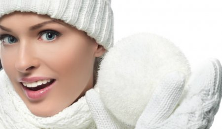 маски для обличчя взимку