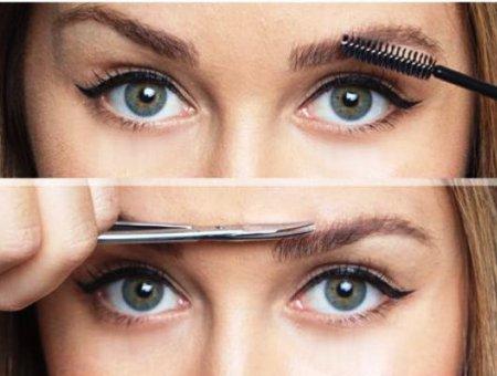Косметологи определили форму бровей для круглого лица