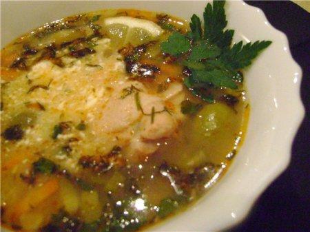 Как приготовить суп Калья: видео