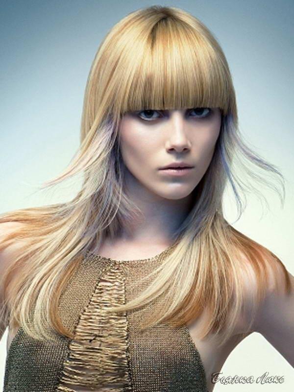 Прически для длинных тонких светлых волос