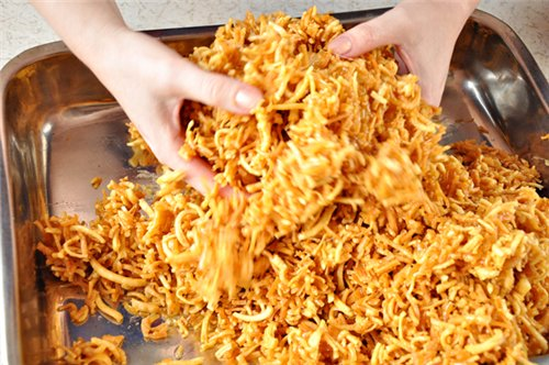 Как приготовить чак-чак - невероятно вкусную восточную сладость