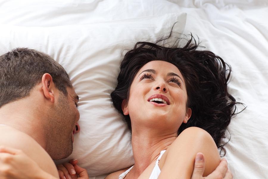 Секс до женского оргазма
