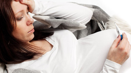 Беременность простуда