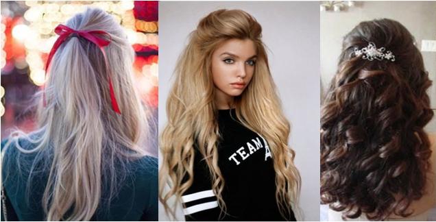 прически на длинные волосы с распущенными волосами