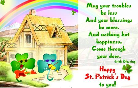 Поздравления на День святого Патрика