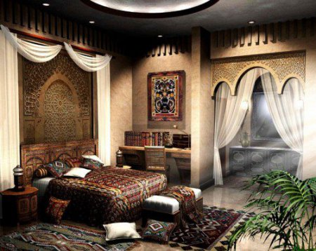 арабський стиль в інтер'єрі