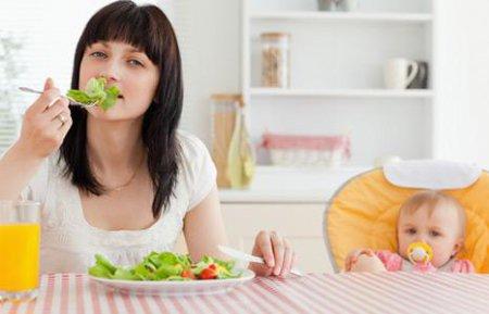 Диета для похудения кормящей мамы