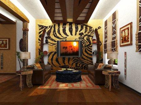 Как оформить интерьер в африканском стиле: советы и рекомендации