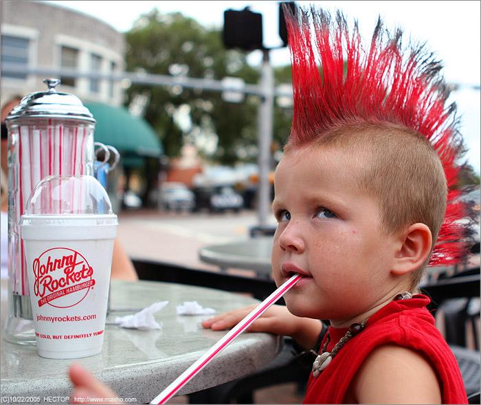 Причёска панк
