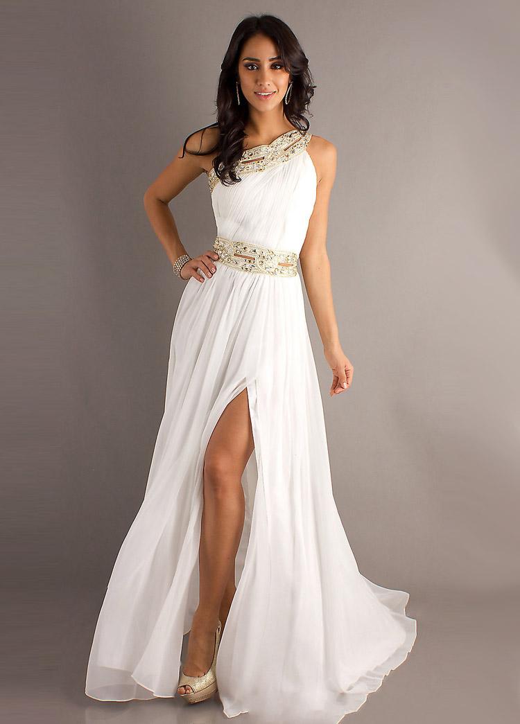 Фото красивых белых платьев