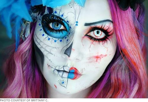 Как сделать макияж зомби фото 196