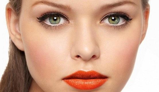 макияж чтобы увеличить глаза