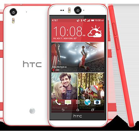 Новинки телефонов HTC: HTC Desire Eye – лучший в мире телефон для «селфи»
