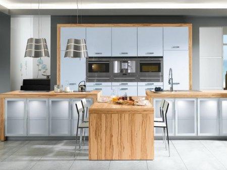 Декор інтер'єру кухні: фото