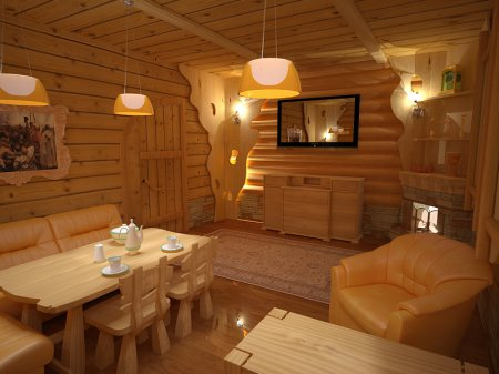 С легким паром! Поиск идей для оформления внутреннего интерьера бани дома