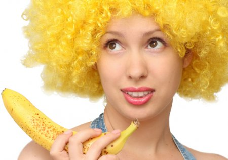 Становимся моложе: маска для тела с бананом