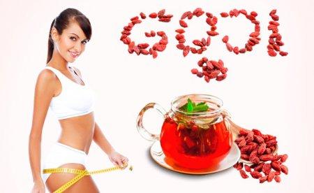 Как сбросить 10кг за 2 недели? Диета для похудения с ягодами годжи