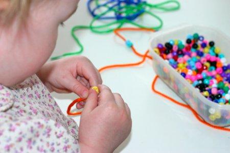 Бисероплетение для детей - хобби с пользой!