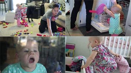 Прикольное видео про маленьких помощников