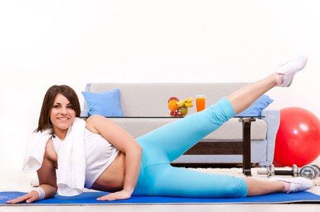 Фитнес дома – комплекс упражнений для похудения