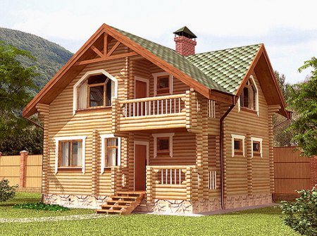інтер'єр дачного будинку